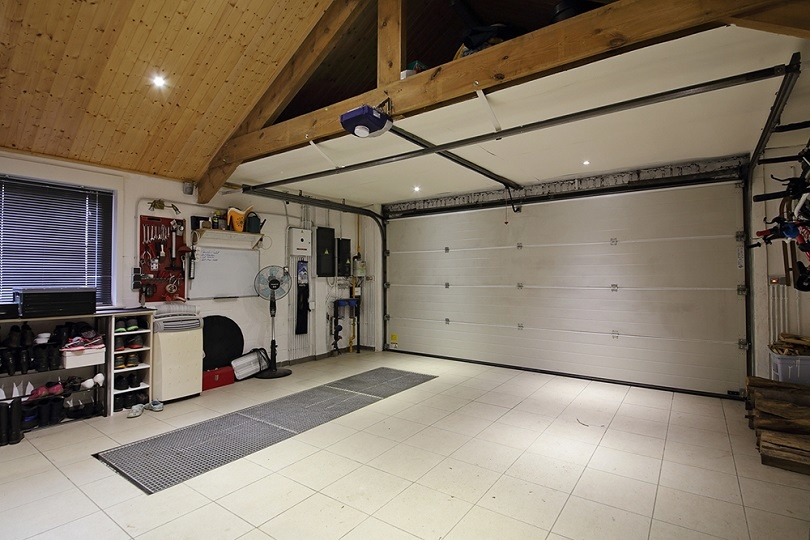 space required for garage gym