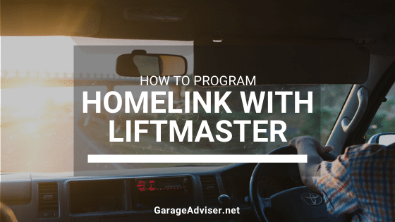 how to program homelink with liftmaster